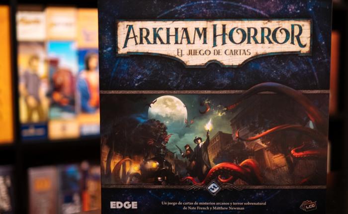 Impresiones de Arkham Horror: el juego decartas
