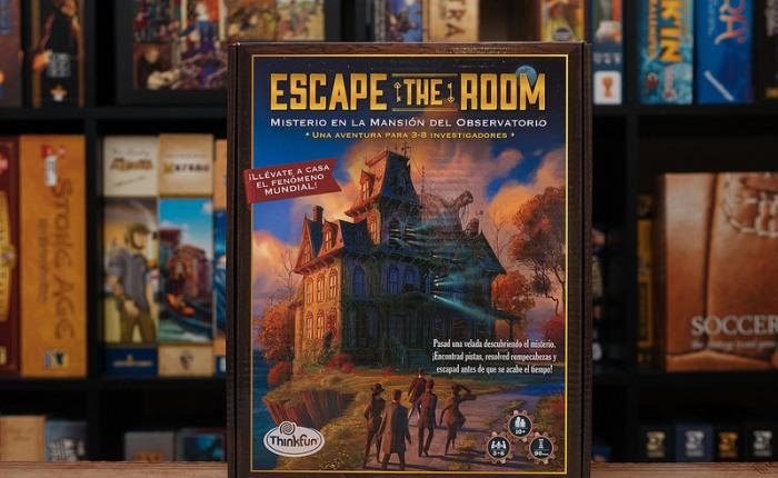 Impresiones de Escape the Room: Misterio en la Mansión delObservatorio